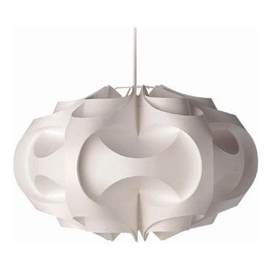 Le Klint 169 Pendant by Illuminating Experiences - This iconic Scandinavian modern form is very versatile and would look equally great over a farm table or a modern table. An example that great design never goes out of style,