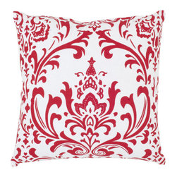 Safavieh Home Furniture - 18-Inch Redand White Decorative Pillows -Set of Two - - This gorgeous 18-inch Modern Decorative Pillows (Set of 2) features a trendy red pattern printed on beautiful white 100% cotton fabric. Seamed with intricate detail this pillow offers the versatility to fit into a wide range of decor styles from modern-contemporary to country or traditional and in settings that are either casual or formal.   - Red  - Some assembly required - Yes  - Please note this item has a 30-day manufacturer's limited warranty that covers product defects. Inspect your purchase upon delivery and notify us immediately with any concerns. Safavieh Home Furniture - PIL408A-1818-SET2