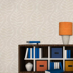 Century Classic - Tropical Fern Wallpaper G580102 - Material: Non-woven