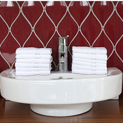 None - Authentic Hotel Spa Turkish Cotton Washcloth (Set of 12) - Give your bathroom a five-star hotel feel with these luxurious Turkish cotton towels. Each towel features a crisp,solid white 550-gram Turkish cotton that is super absorbent and made to not pile or shed. Each set comes with twelve washcloths.