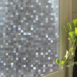 Mosaic Window Film - Instruction: