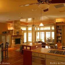 Traditional Kitchen by Oliver Custom Homes