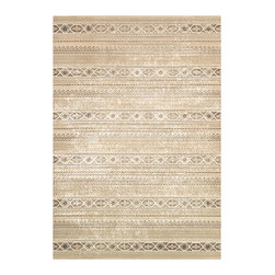 "Couristan - Marina Malta Rug 8961/0100 - 7'10"" x 10'9"" - Because of its soft, neutral color scheme, Marina area rugs will provide any room-setting with a subtle, yet defining foundation. Each design in this elegant collection can serve as the centerpiece of your room of choice, or as a soft accent piece to complete your look. Sharp contrast between your furniture pieces, accessories and Marina's soft, neutral color scheme will add an extra sense of dimension and freshness to your setting. No matter what your decorating intent is, Marina will be sure to deliver by giving your space a touch of sophistication."