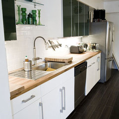 modern  IKEA kitchen