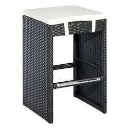 Zuo Modern - Zuo Modern Marrakesh Single Bench Espresso Counter Stool - The rich beauty found in this Marrakesh Bench will create a cozy getaway right outside your own home. Durable, steel frame and cushion capture the true feel of country design. Embrace its relaxing country warmth found in its rich brown finish. All contents ship in 1 box. Requires light assembly.