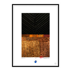 Studio Eight - Contemporary Modern Abstract Fine Art, ACCORD, br Charles Sabec, 2014, Black - ACCORD, by Charles Sabec, 2014.