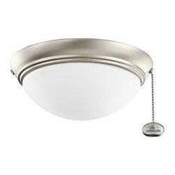 Kichler Lighting - Kichler Lighting Basic Low Profile 30-36 Ceiling Fan Light Kit X-IN021083 - Kichler Lighting Basic Low Profile 30-36 Ceiling Fan Light Kit X-IN021083