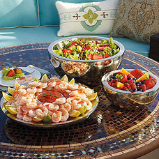 Contemporary Serving Dishes And Platters by FRONTGATE