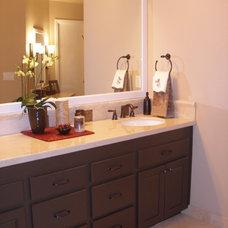 Modern Bathroom by Kate Byer Interior Design