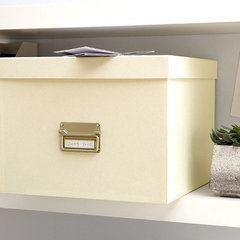 traditional storage boxes by The Holding Company