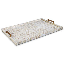Transitional Serving Trays by Kathy Kuo Home