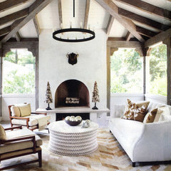 contemporary porch by Yvonne McFadden LLC