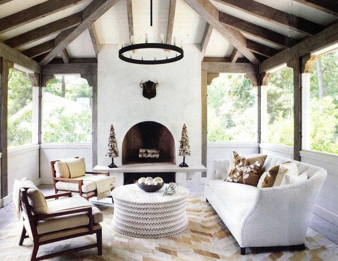 Rustic Porch by Yvonne McFadden LLC