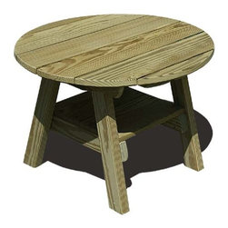 Fifthroom - Treated Pine Round Table - This table provides the perfect touch to round out your motif.