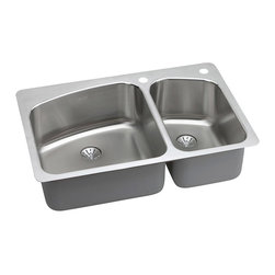 Elkay - Elkay LKHSR2509RPD0 Harmony slim Kitchen Sink - Universal Mount