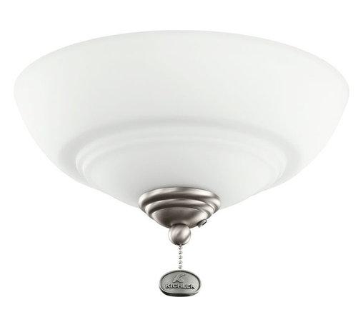 Kichler Lighting - Kichler Lighting Decor Bowl 52-56 Ceiling Fan Light Kit X-PA521083 - Kichler Lighting Decor Bowl 52-56 Ceiling Fan Light Kit X-PA521083
