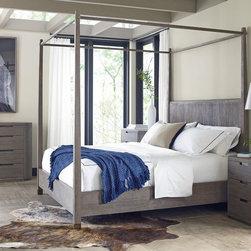 Brownstone Fruniture Bedrooms Palmer Bed - Materials: