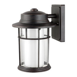 "Globe Electric - Globe Electric 40958 Rustica 11.5"" Downward Outdoor Wall Light Fixture - Features:"