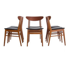 Modern Dining Chairs by Danish Teak Classics