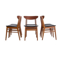 Vintage Danish Modern Dining Chairs -