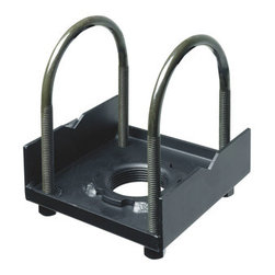 "Peerless - Truss Ceiling Adapter, I-Beam Truss, Black - The Peerless ACC557 Truss Ceiling Adaptor, adapts the Jumbo or Jumbo 2000 Ceiling Mount to square, round, rectangular or I-beam type trusses [up to 3� (76mm) in diameter]. Adaptor can be used with or without an extension columnAttaches to a round square, rectangular ,or I-Beam truss up to 3"" wide x 3 1/2"" high