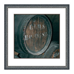Big Fish - Big Fish Cellar V Wall Art - Barrel OnUncork your great style with the Cellar V Wall Art from Big Fish. Featuring a vintage aging barrel, this photo print has a fine artistic feel and old-world appeal. Put it in your kitchen or bar area as the perfect accent for any vinophile. It adds great character to chic modern homes as well as sophisticated transitional spaces. Plus, this piece comes framed so you can hang it with ease or gift it to a wine-loving friend. Cheers!Comes in a finished wood frameMounting hardware includedMade in the USA