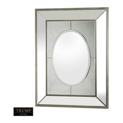 Joshua Marshal - Large Mirror Set In A Heavy Mirrored Frame - LARGE MIRROR SET IN A HEAVY MIRRORED FRAME
