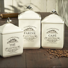 Traditional Kitchen Canisters And Jars by Overstock.com