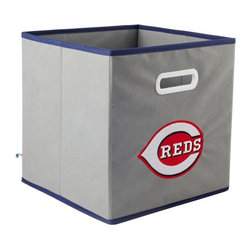 MyOwnersBox - MyOwnersBox Closet Organization MLB STOREITS Cincinnati Reds 10-1/2 in. x - Shop for Storage & Organization at The Home Depot. The MyOwnersBox 10-1/2 in. x 11 in. Cincinnati Reds MLB STOREITS Grey Fabric Drawer has an attractive team embroider logo that looks great in your storage area. Made of sturdy non-woven polypropylene this drawer has a collapsible design and folds out to form a drawer sized to fit 11 in. square compartments. The drawer is ideal for storing clothing or small toys in your children's room home office or laundry room. Color: Gray.