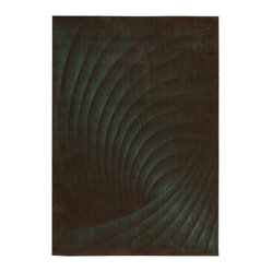 Nourison Somerset ST75 Brown, Teal Rug
