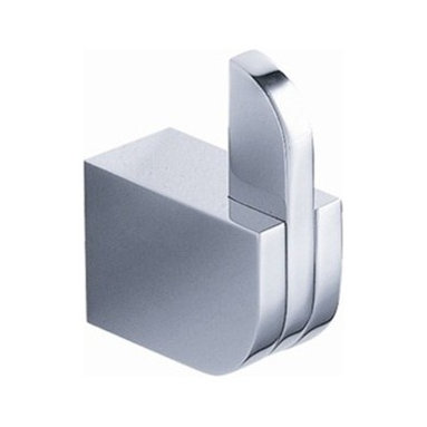 Fresca - Fresca Solido Bathroom Robe Hook - All our bathroom accessories are imported and are selected for their modern, cutting edge designs. All accessories are made with brass with a quadruple chrome finish. All our accessories have been chosen to complement our other line of products including our vanities, steam showers, whirlpools, and toilets.