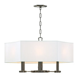 Hudson Valley Lighting - Hudson Valley Lighting 9030 Russell 6 Light Chandelier - Product Features: