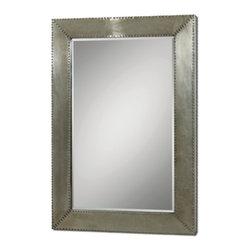 Silver Champagne Stain Aluminum Mirror - Silver Champagne Stain Aluminum Mirror