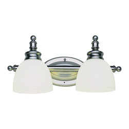 Trans Globe Lighting - Trans Globe Lighting 34142 AN Button Willow 2 Light Wall Bar in NickelBathbars a - Quaint 2 light bath bar with round knobbed ends, round finials, and oval wall plate. Round dish shades can mount up or down. In nickel finish or bronze.