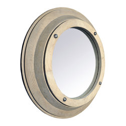 Porthole Mirror Small - I'd like to see two mirrors like this one above each other on a small wall.
