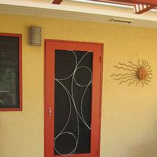 Mediterranean Screen Doors by Susan Wallace