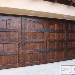 Spanish Colonial 14, Custom Architectural Garage Door - Rustic charm. Perfectly done!