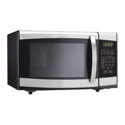 Danby - Danby 0.7 Cubic Foot Stainless Steel Microwave - Features: