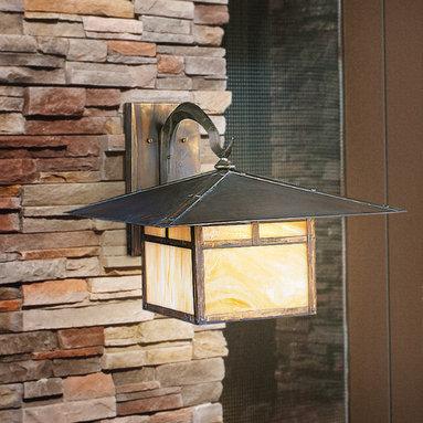 Outdoor Decrative Lighting - The La Mesa Collection of outdoor lighting from Kichler