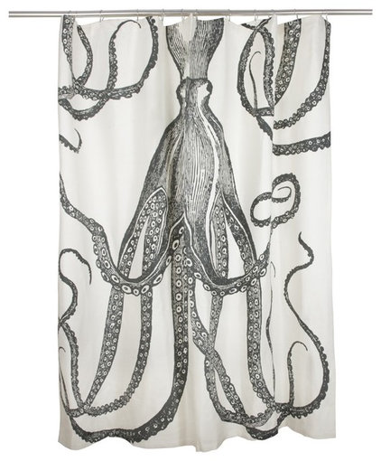 Eclectic Shower Curtains by Design Public