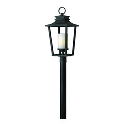 Hinkley - Hinkley Sullivan One Light Black Post Light - 1741BK - This One Light Post Light is part of the Sullivan Collection and has a Black Finish. It is Outdoor Capable.