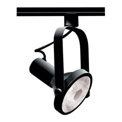 Nuvo Lighting - Nuvo Lighting TH223 Single Light PAR30 Gimbal Ring Track Head in Black Finish - Nuvo Lighting TH223 Single Light PAR30 Gimbal Ring Track Head in Black FinishNuvo Lighting TH223 Features: