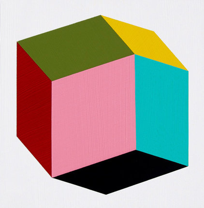 "modern artwork ""Rhombic"" by Magna Paint"