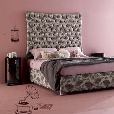Creazioni - Biscotto double bed €2,999 to €3,650 depending on the fabric. Bill side table €1,580. vailable on imagine-living.com. Ship worldwide. For information email ilive@imagine-living.com