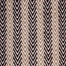 Hook & Loom Rug Company - Lanesborough Brown/Taupe Rug Swatch - Very eco-friendly rug, hand-woven with yarns spun from 100% recycled fiber.  Color comes from the original textiles, so no dyes are used in the making of this rug.  Made in India.
