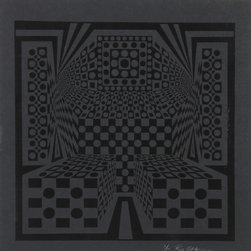 Roy Ahlgren, Desert Icon Exp., Silkscreen - Artist:  Roy Ahlgren, American (1927 - 2011)