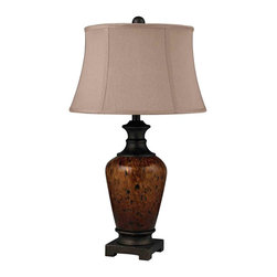 Dimond Lighting - Dimond Lighting D2316 Redding Painted Dark Bronze Table Lamp - Dimond Lighting D2316 Redding Painted Dark Bronze Table Lamp