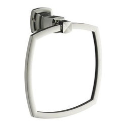 "KOHLER - KOHLER K-16254-SN Margaux Towel Ring in Polished Nickel - KOHLER K-16254-SN Margaux Towel Ring in Polished NickelMargaux accessories create an aura of classic elegance with a variety of finishes that reinforce a sleek, contemporary feel as well as the timelessness of traditional decor.KOHLER K-16254-SN Margaux Towel Ring in Polished Nickel, Features:• 7-1/2""W x 3-1/2""D x 8-5/16"" H"