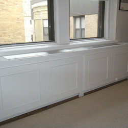Prewar AC/Radiator Cover - - Custom removable panels w/ custom panel detail (2)