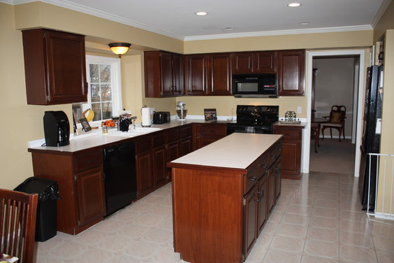 How would you redesign my kitchen? Removing the soffits is not an ...